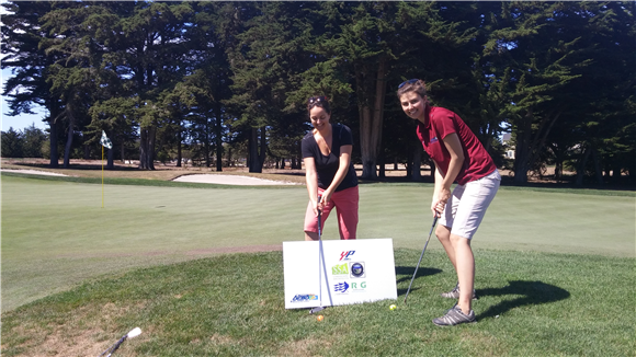 Young Professionals at the 2015 Monterey Bay Golf Tournament; Proceeds go to Internships and Scholarships                                                 YP Sponsors: Fall Creek Engineering, SSA, Butano Geotechnical, Ruth and Going
